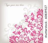 floral background | Shutterstock .eps vector #60839527