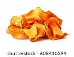 pile of healthy sweet potato... | Shutterstock . vector #608410394
