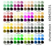 Color Guide With Color Names