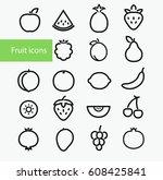 vector illustration. set of... | Shutterstock .eps vector #608425841