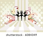 Ballet Design - Vector - stock vector