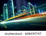 urban roads in the city   Shutterstock . vector #608459747