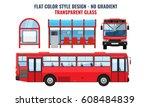 cool modern flat design public...   Shutterstock .eps vector #608484839