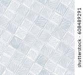 hand drawn tiled vector... | Shutterstock .eps vector #608489291