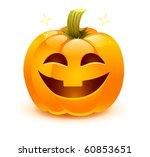 halloween pumpkin   Shutterstock .eps vector #60853651