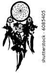 dreamcatcher  vector  | Shutterstock .eps vector #6085405