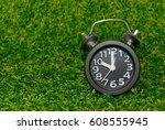 Clock In The Meadow