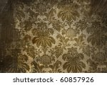 Vintage Wallpaper With A Grunge ...