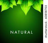 vector natural design | Shutterstock .eps vector #60858703