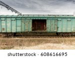 Freight Cars. The Railway....