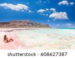 Balos Lagoon On Crete Island ...