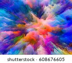 color splash series.... | Shutterstock . vector #608676605