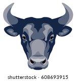 vector graphical illustration... | Shutterstock .eps vector #608693915