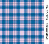 classic straight plaid pattern... | Shutterstock .eps vector #608728751