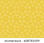 seamless floral pattern with... | Shutterstock .eps vector #608781059