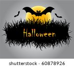 halloween illustration   Shutterstock .eps vector #60878926