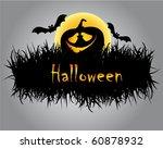 halloween illustration   Shutterstock .eps vector #60878932