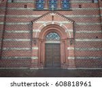old church door | Shutterstock . vector #608818961
