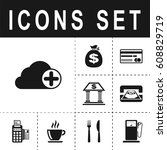 add to cloud icon | Shutterstock .eps vector #608829719