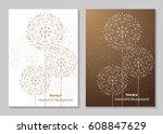 modern vector templates for...   Shutterstock .eps vector #608847629