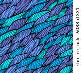 vector seamless pattern. modern ...   Shutterstock .eps vector #608851331