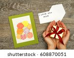 mother's day | Shutterstock . vector #608870051