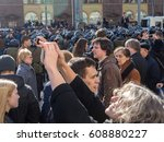 moscow  russia   march 26  2017 ... | Shutterstock . vector #608880227