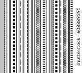 seamless geometric vector... | Shutterstock .eps vector #608889395