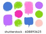 vector collection colorful... | Shutterstock .eps vector #608893625