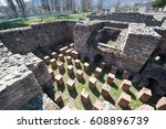 ruins of the ancient greek city ... | Shutterstock . vector #608896739