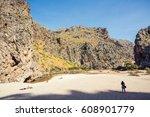 sa calobra   torrent de pareis... | Shutterstock . vector #608901779