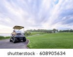 The Golf Course Landscape With...