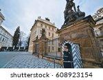 Guard At Prague Castle   Prague ...