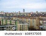 russian town | Shutterstock . vector #608937005