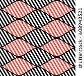 seamless vector abstract... | Shutterstock .eps vector #608943521
