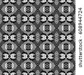engraving seamless pattern. the ... | Shutterstock .eps vector #608944724