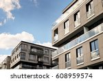 modern  luxury apartment... | Shutterstock . vector #608959574