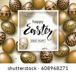 Happy Easter Luxury Banner...