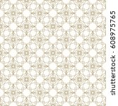 vector geometric seamless... | Shutterstock .eps vector #608975765