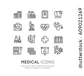 vector icon style illustration... | Shutterstock .eps vector #609021269