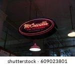 los angeles  california  usa ... | Shutterstock . vector #609023801
