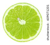 top view of textured ripe green ... | Shutterstock . vector #609071201