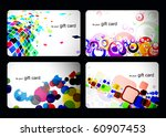 abstract beautiful set of  gift