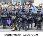 moscow  russia   march  26 ... | Shutterstock . vector #609079925