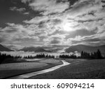 Black   White Photo Of A Golf...