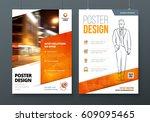 poster design. a3  a2  a1....   Shutterstock .eps vector #609095465