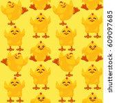 vector seamless pattern of...   Shutterstock .eps vector #609097685