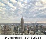 manhattan skyline  nyc | Shutterstock . vector #609115865