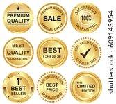 set of business banner in... | Shutterstock .eps vector #609143954