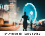 abstract background of people... | Shutterstock . vector #609151469